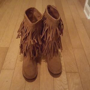 Rampage Cantrell  Moccasin Boots